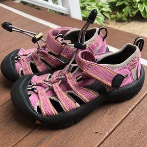 Keen waterproof sandals pink size 12